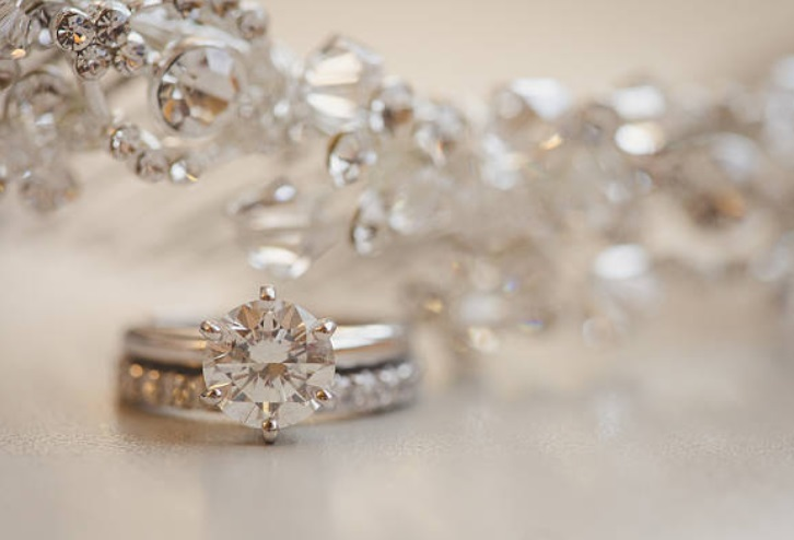 diamond ring 6 prongs design